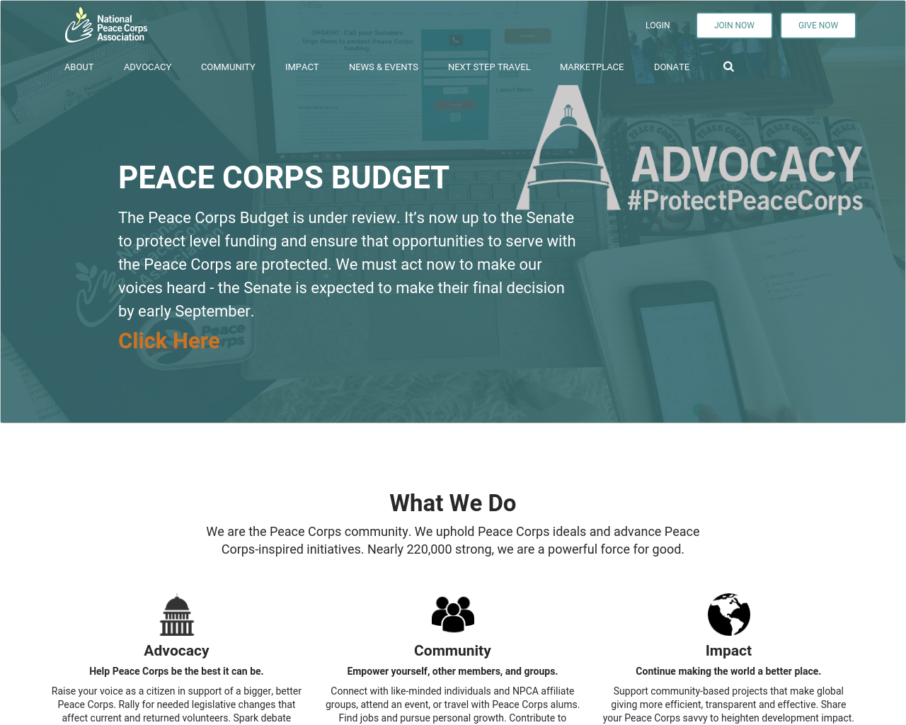 National-Peace-Corps-Association-Advertising-Reviews-Pricing