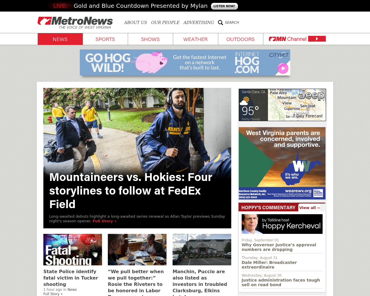 MetroNews-(The-Voice-Of-West-Virginia)-Advertising-Reviews-Pricing
