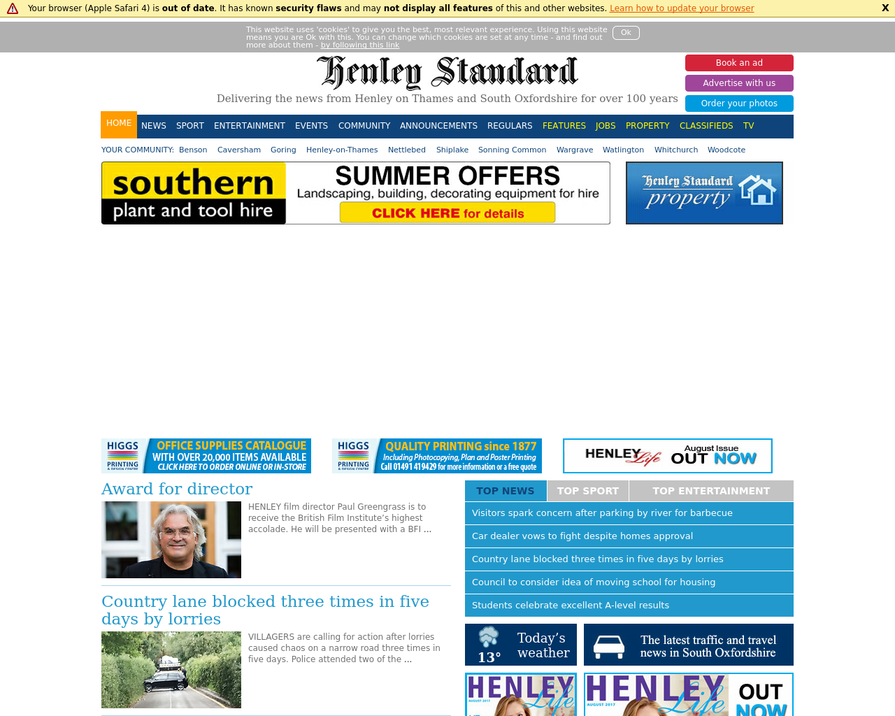 Henley-Standard-Advertising-Reviews-Pricing