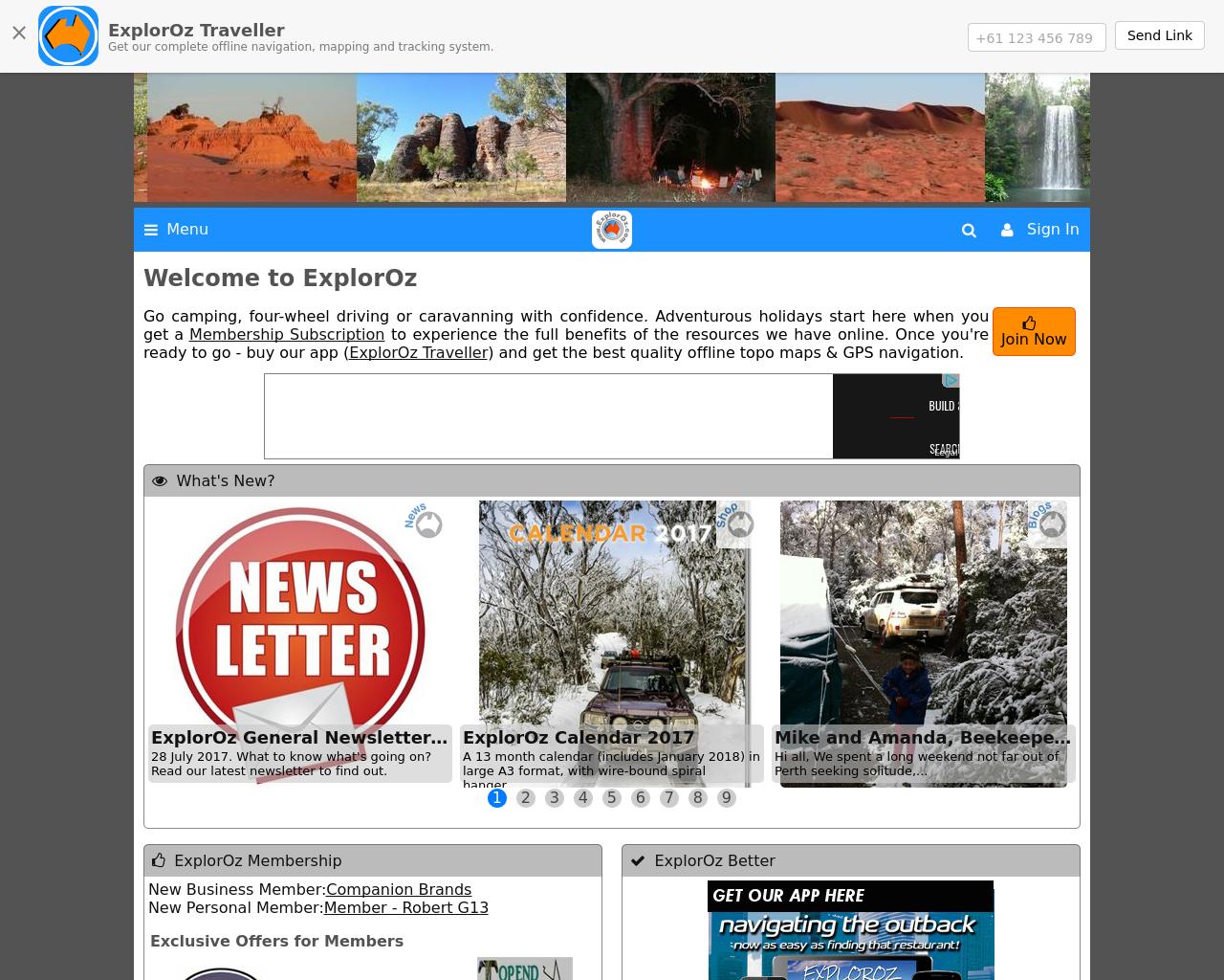 www.exploroz.com-Advertising-Reviews-Pricing