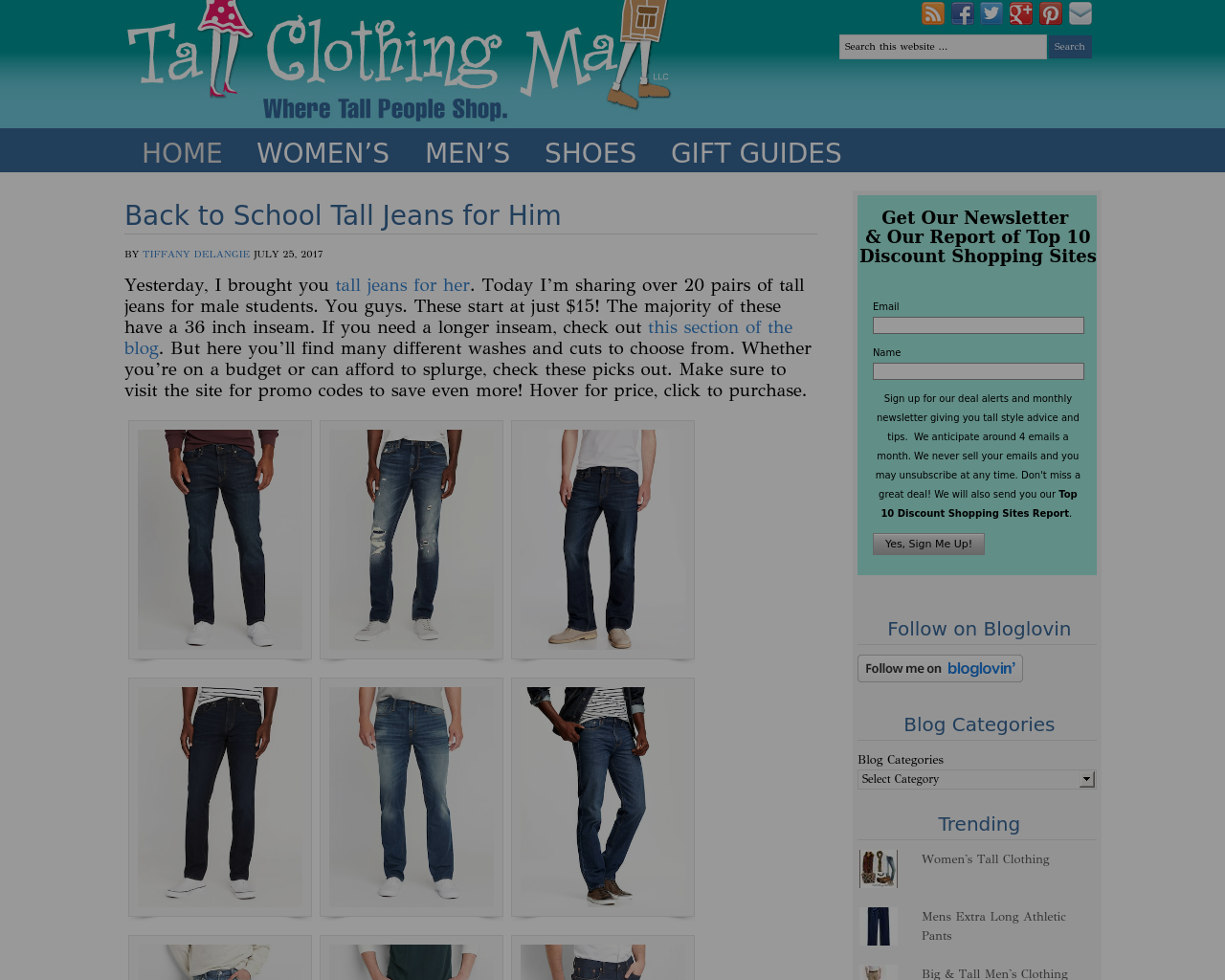 Tall-Clothing-Mall-Advertising-Reviews-Pricing