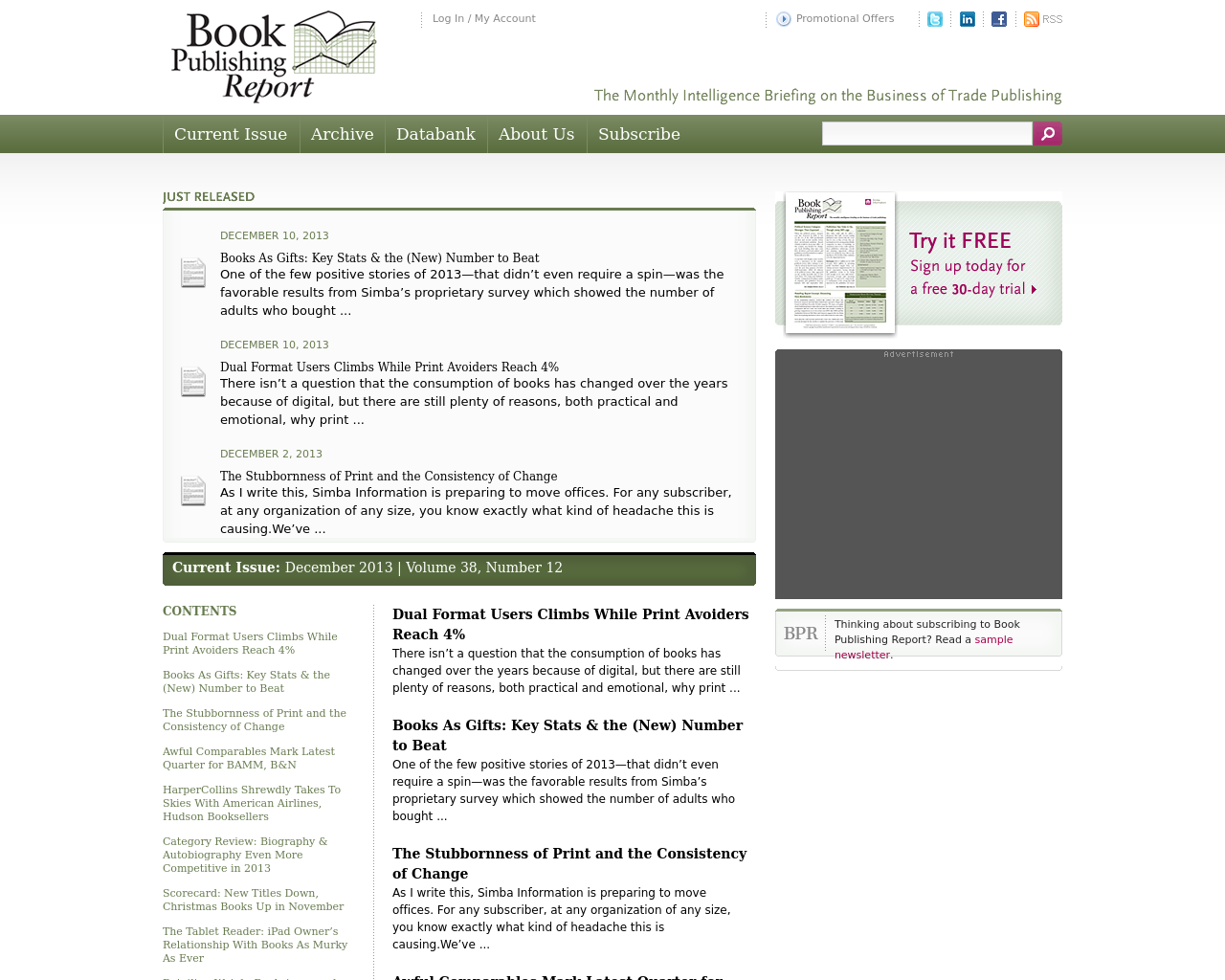Book-Publishing-Report-Advertising-Reviews-Pricing