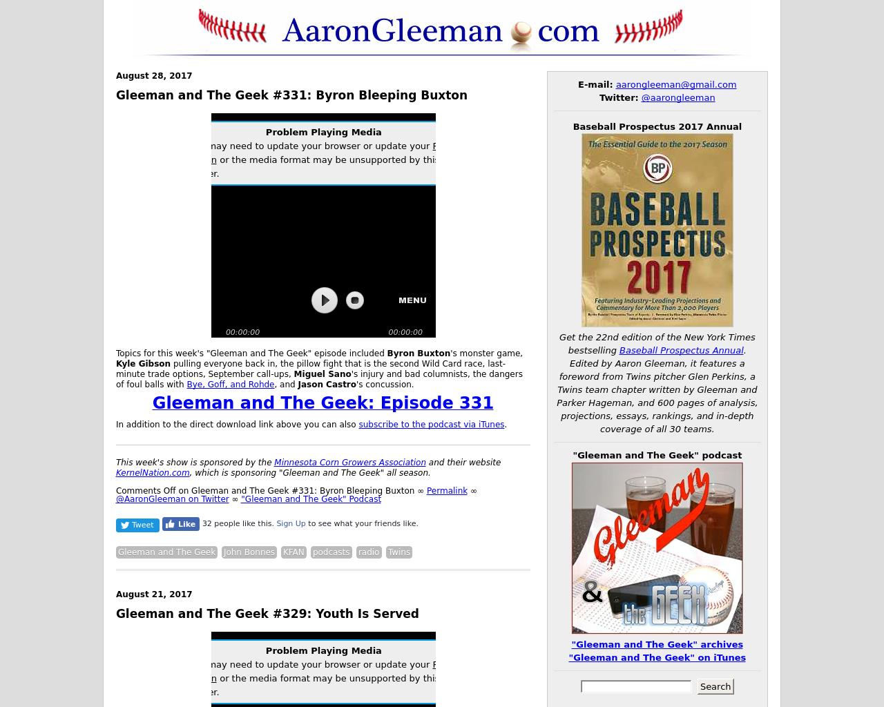 Aaron-Gleeman-Advertising-Reviews-Pricing
