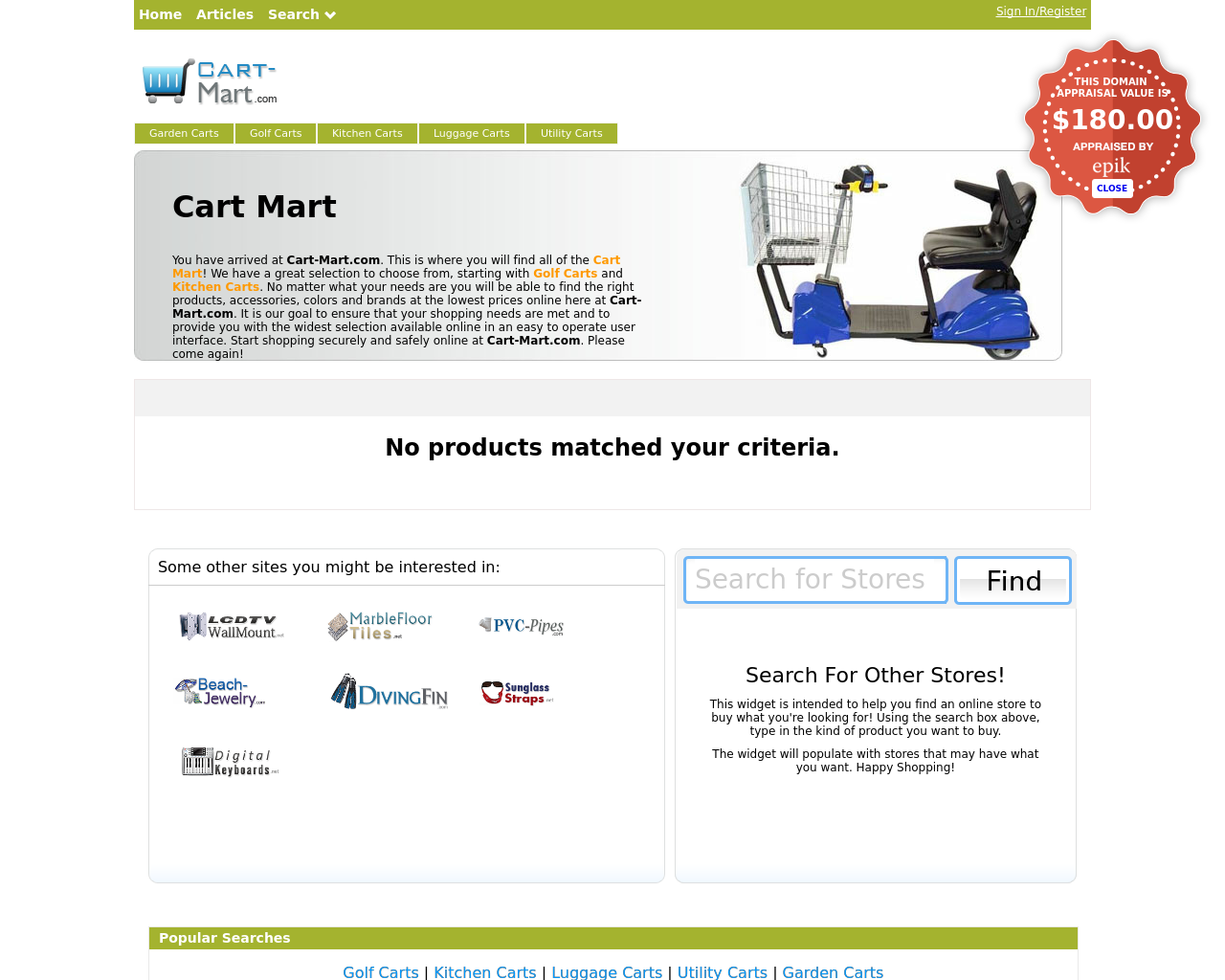 Cart-mart.com-Advertising-Reviews-Pricing