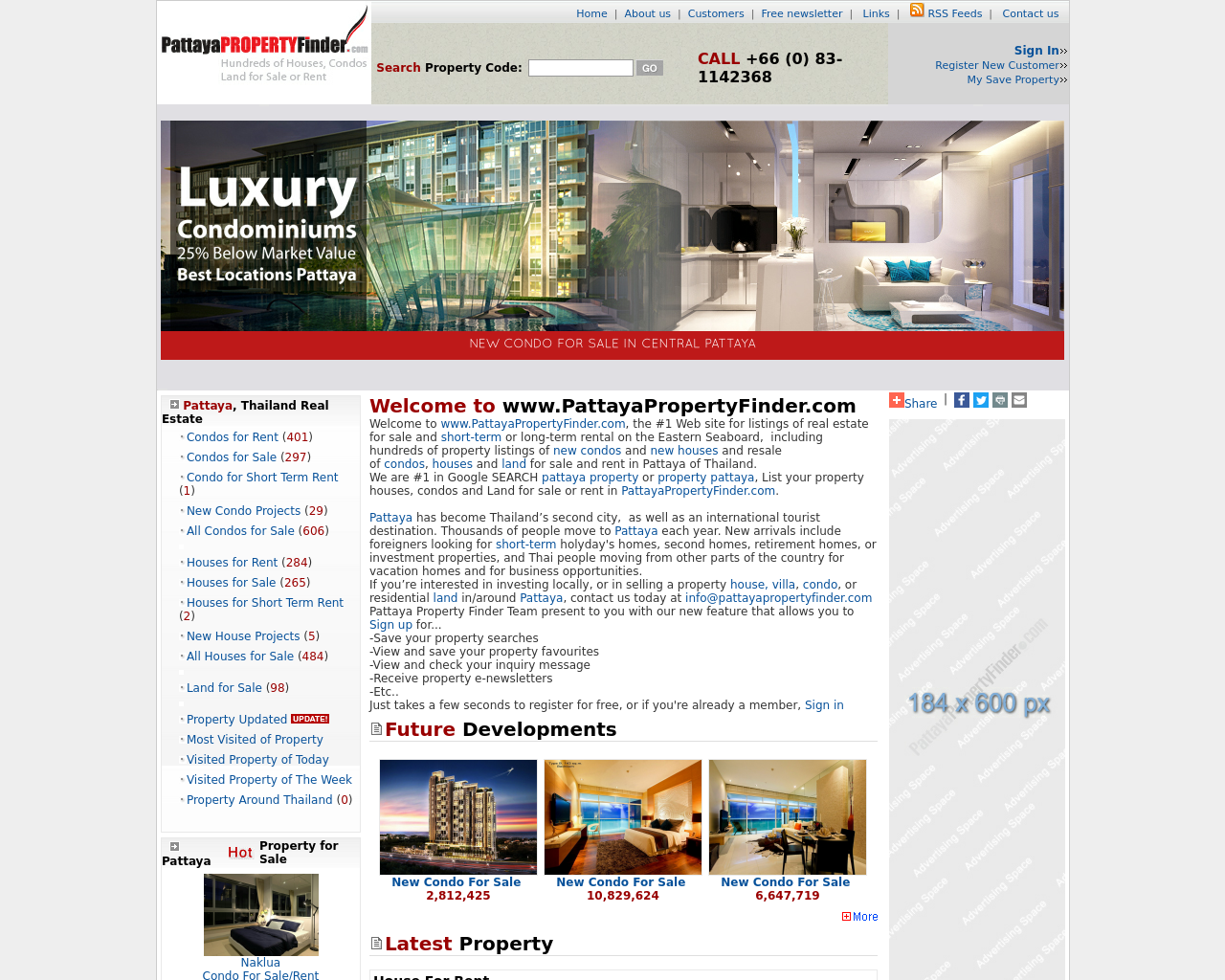 PattayaPropertyFinder.com-Advertising-Reviews-Pricing