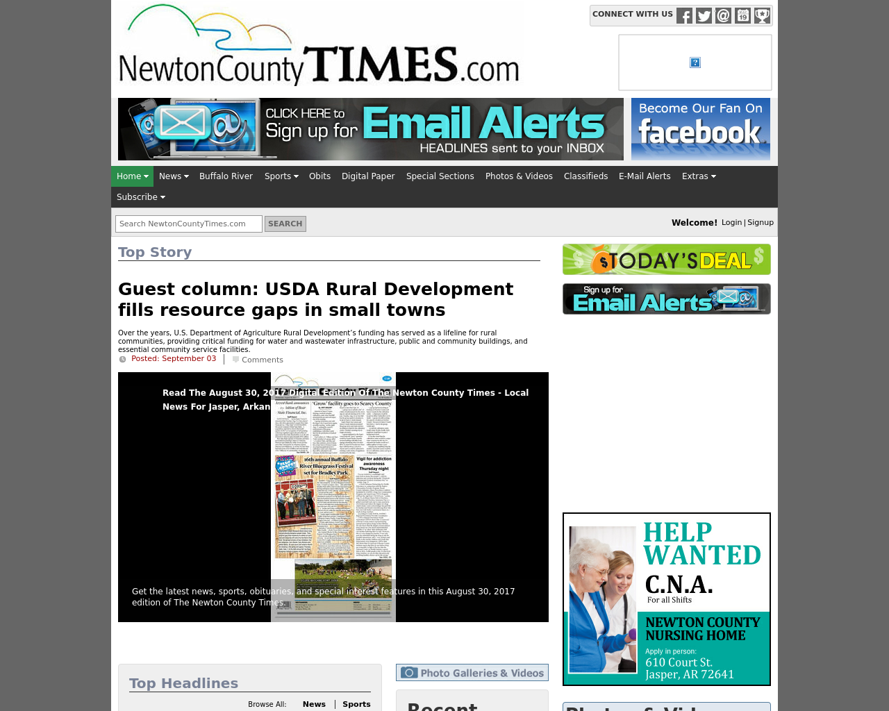 Newtoncountytimes.com-Advertising-Reviews-Pricing