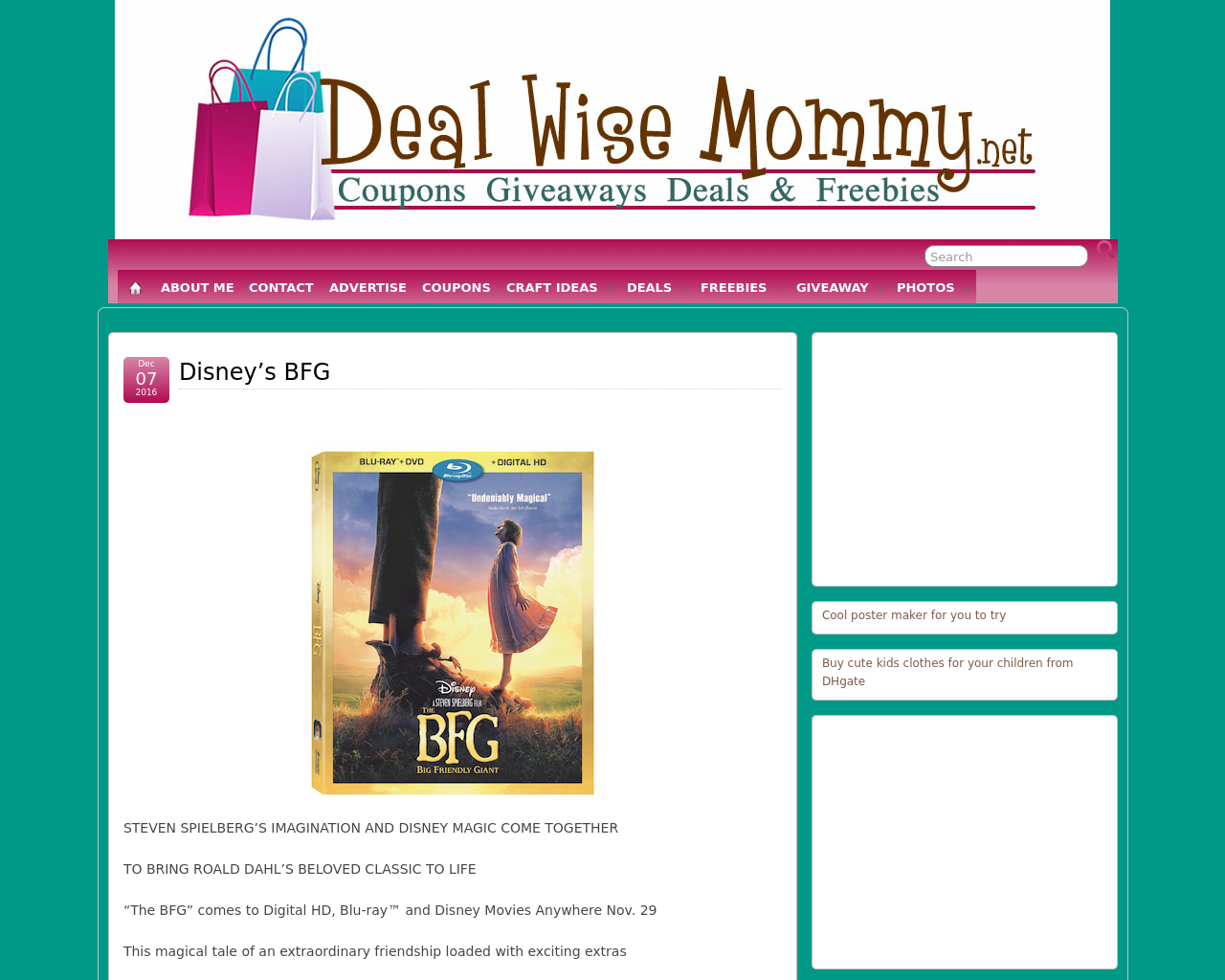 Deal-Wise-Mommy-Advertising-Reviews-Pricing