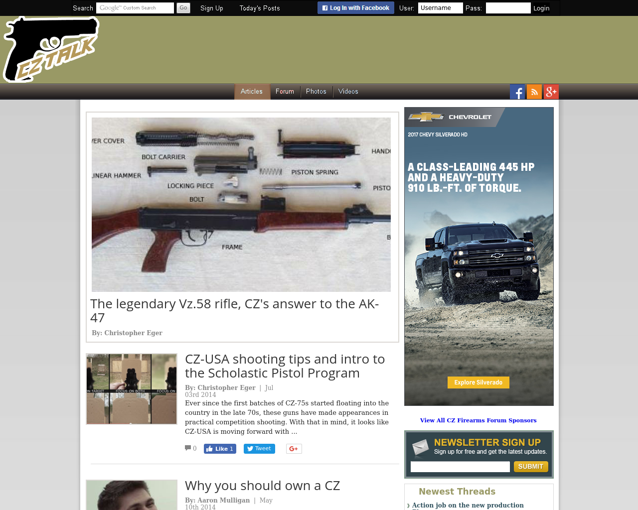 CZ-Firearms-Forum-Advertising-Reviews-Pricing