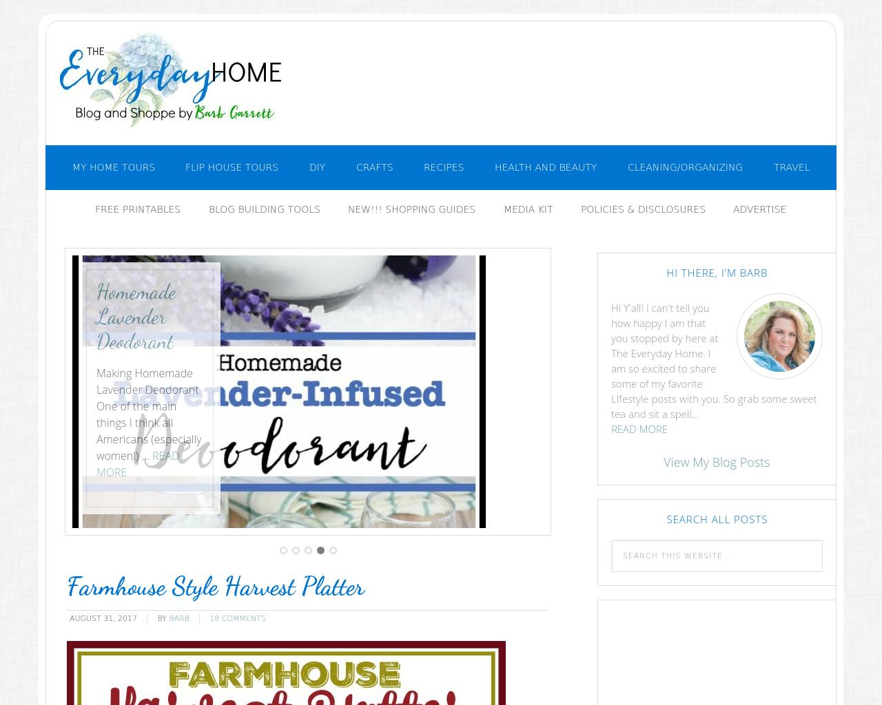 Everydayhomeblog.com-Advertising-Reviews-Pricing