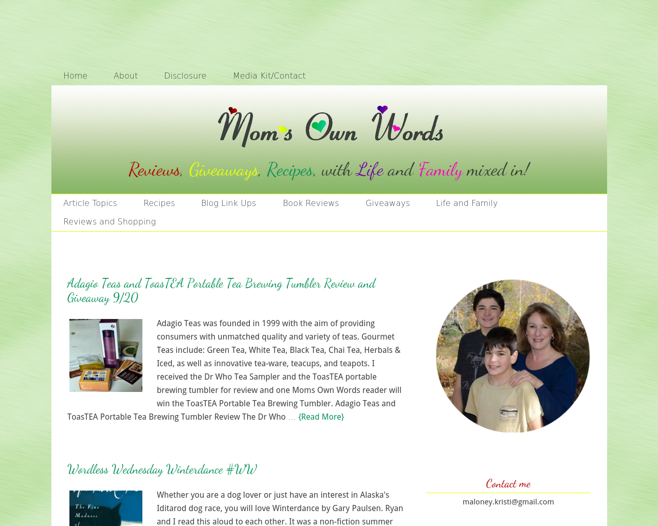Moms-Own-Words-Advertising-Reviews-Pricing