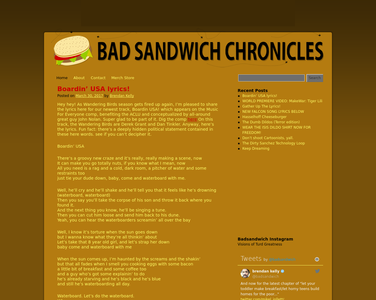 BAD-SANDWICH-CHRONICLES-Advertising-Reviews-Pricing
