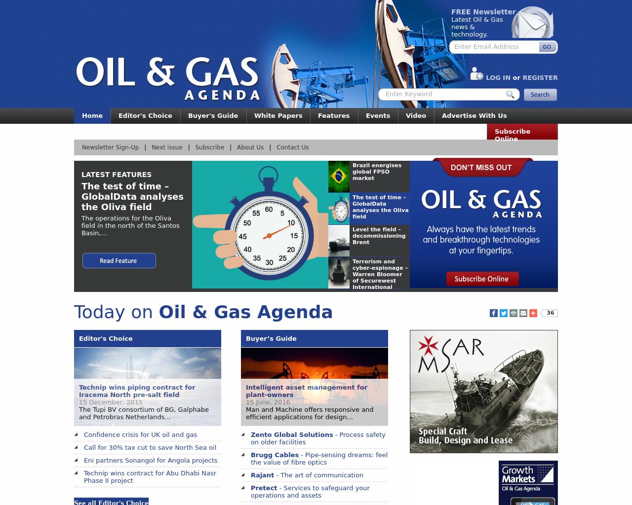 Oil-&-Gas-Agenda-Advertising-Reviews-Pricing