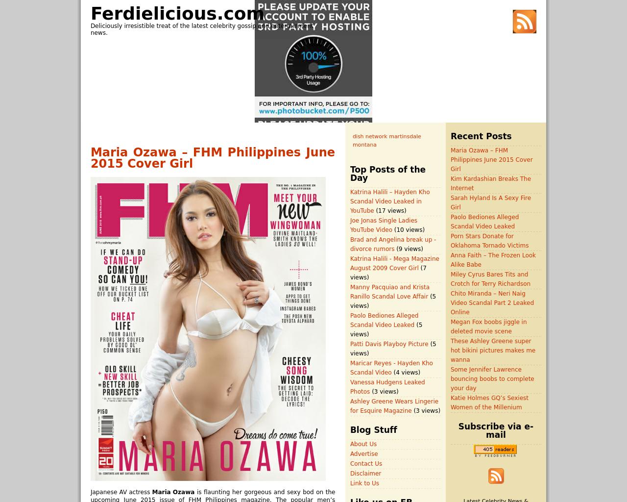 Ferdielicious.com-Advertising-Reviews-Pricing