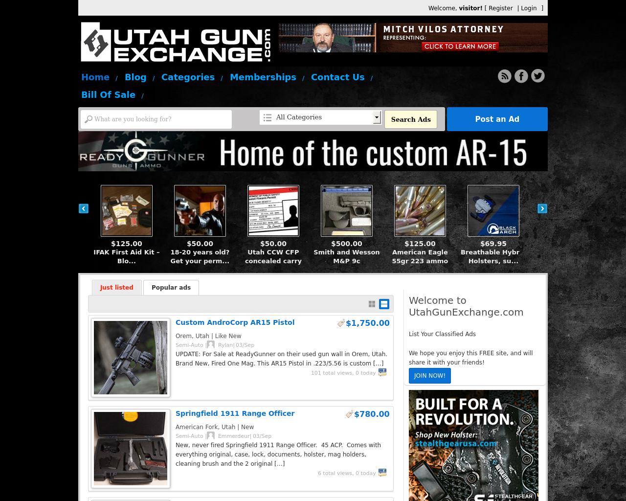 UTAHGUNEXCHANGE.COM-Advertising-Reviews-Pricing
