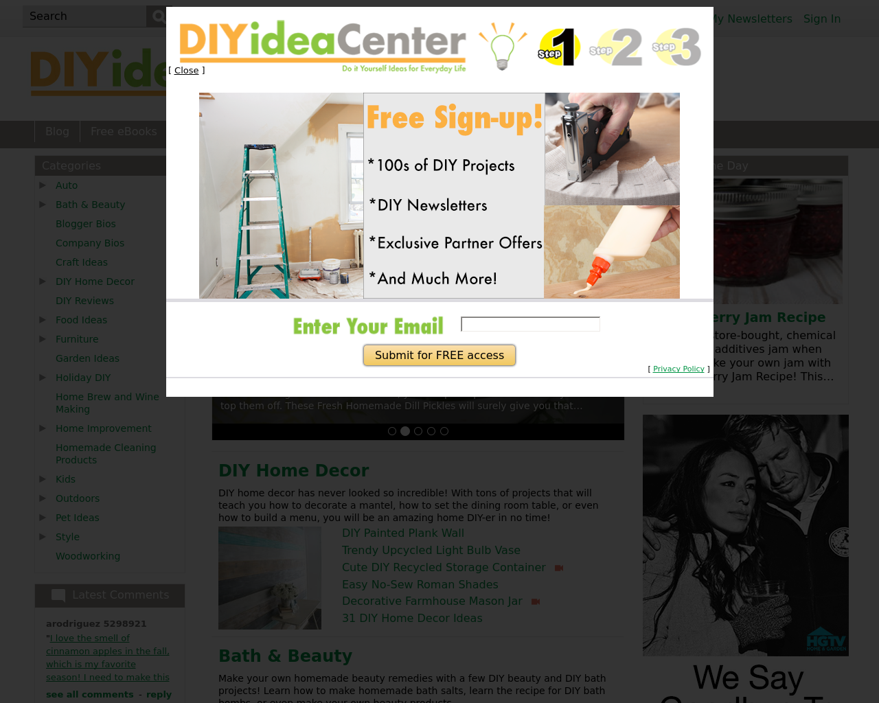 DIYideaCenter.com-Advertising-Reviews-Pricing