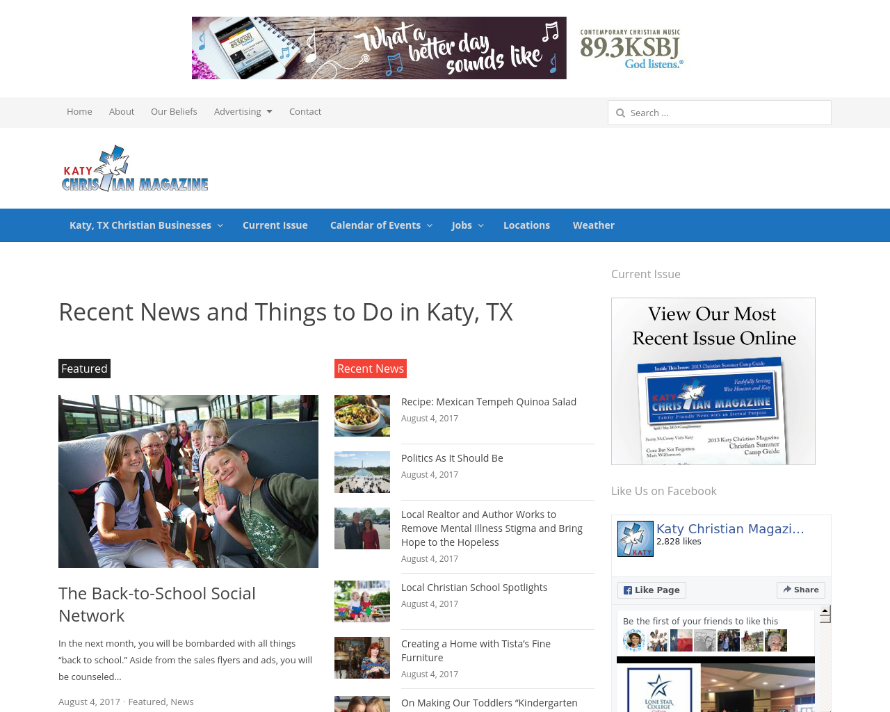 Katy-Christian-Magazine-Advertising-Reviews-Pricing
