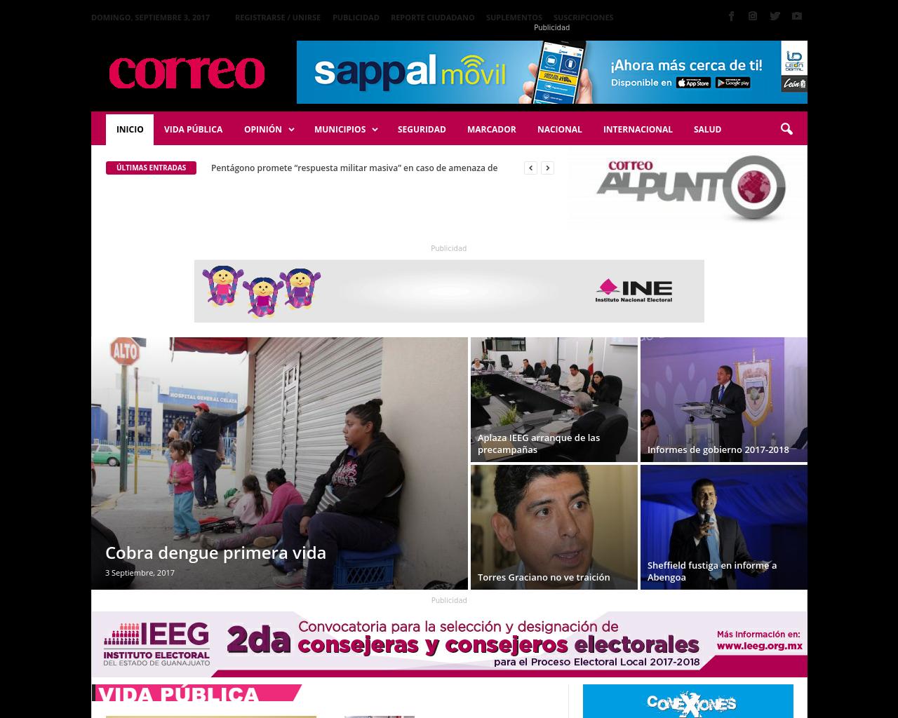 Periodico-Correo-(Newspaper-Mail)-Advertising-Reviews-Pricing