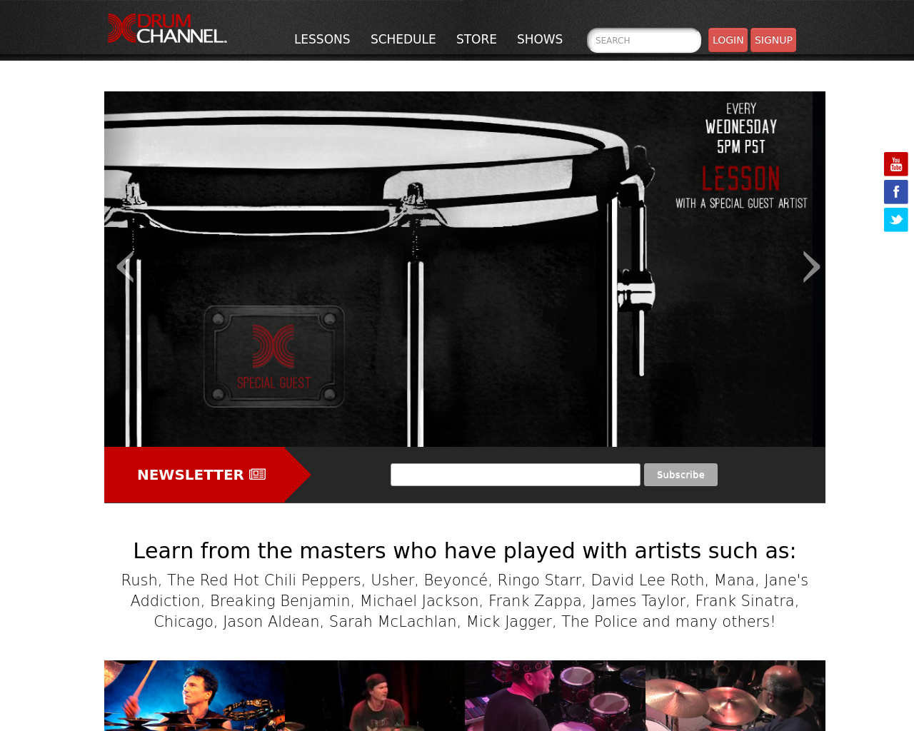 DrumChannel.com-Advertising-Reviews-Pricing