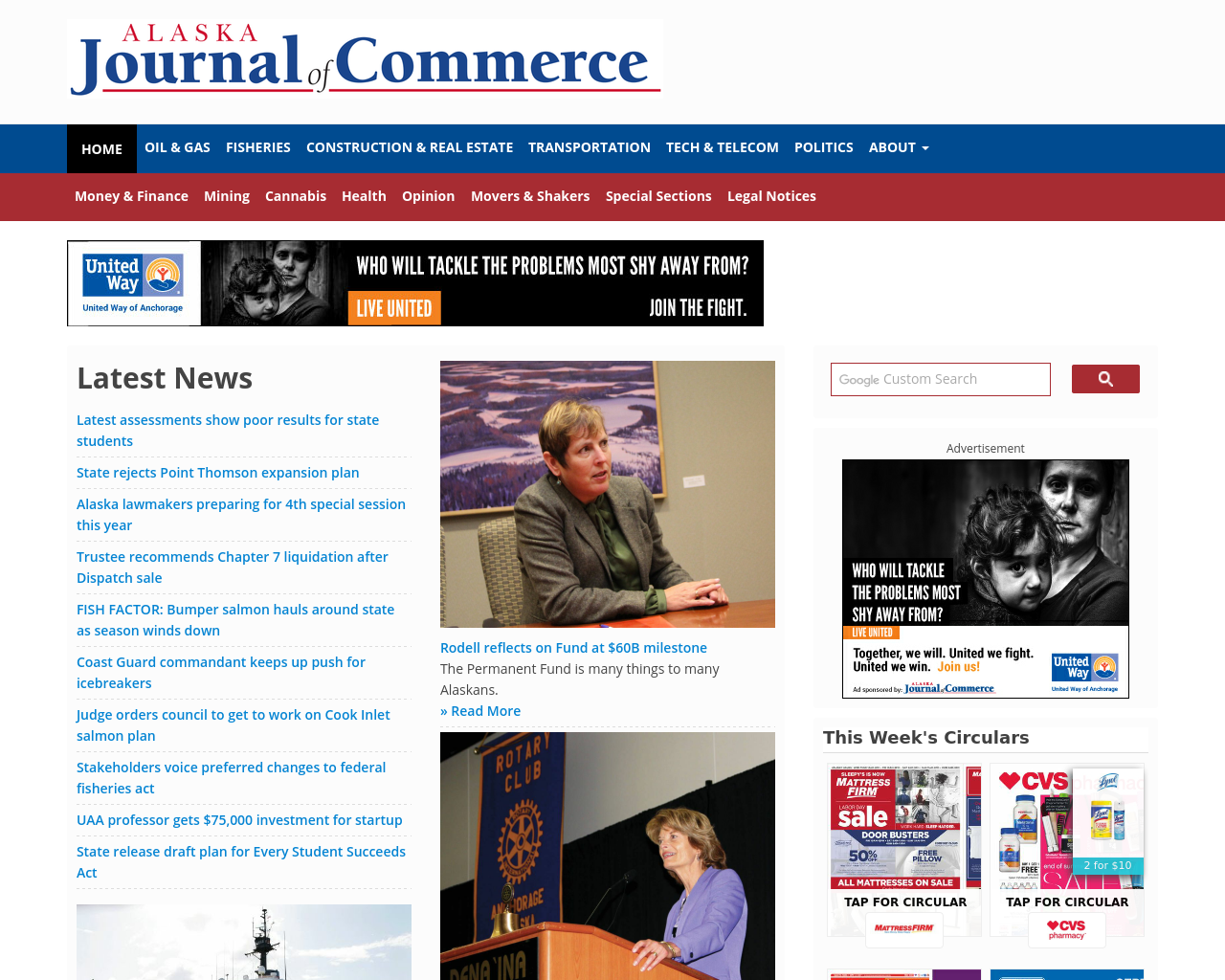 alaska journal of commerce advertising mediakits reviews pricing