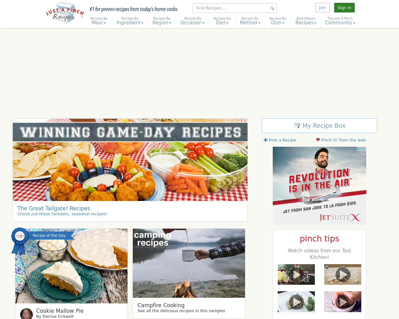 Just-A-Pinch-Recipes-Advertising-Reviews-Pricing