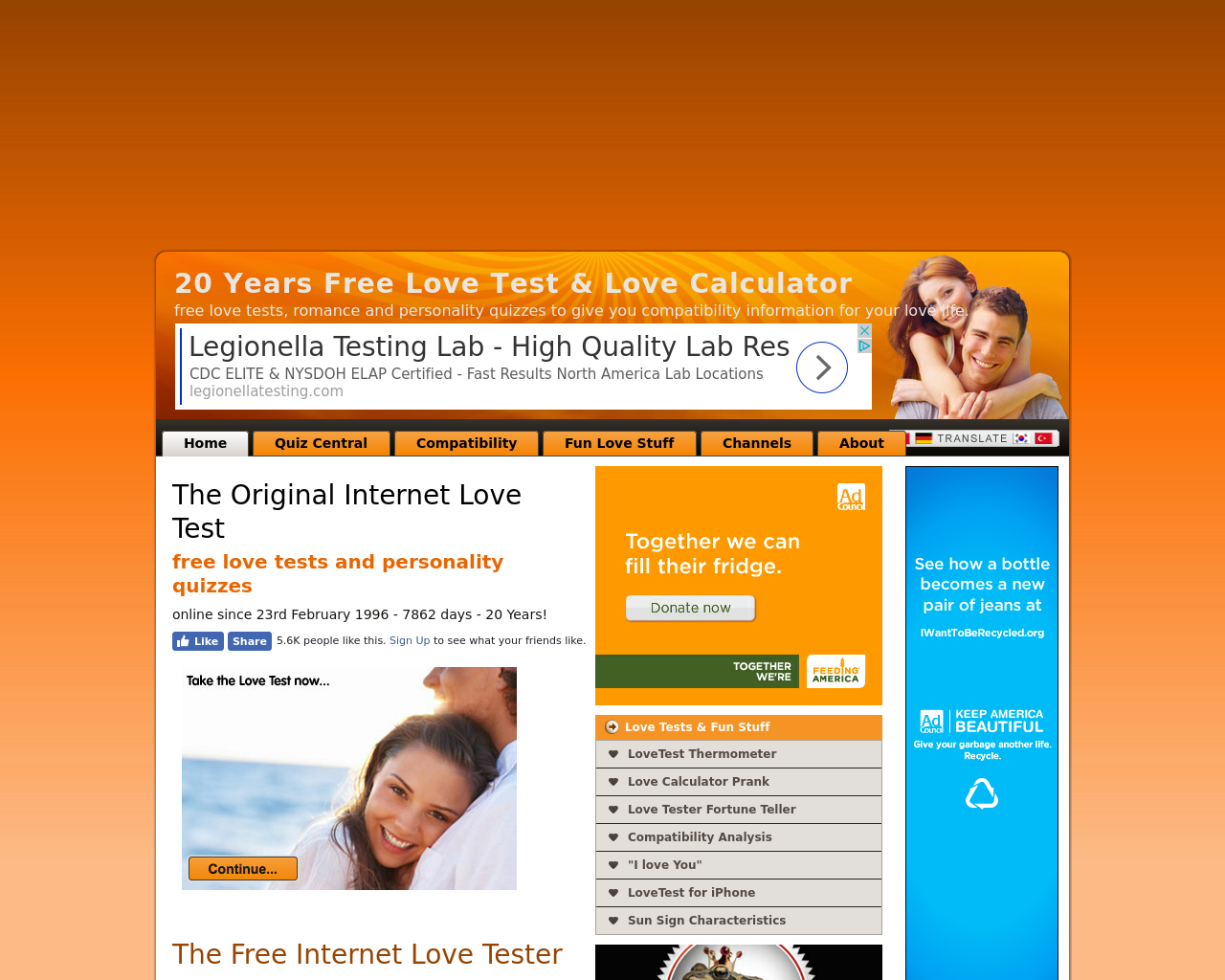 Love-Test-Advertising-Reviews-Pricing