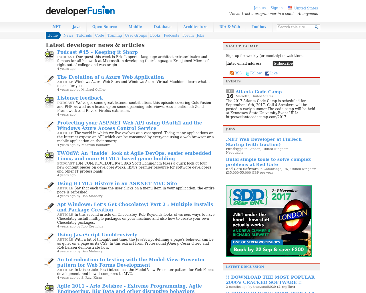 developerFusion-Advertising-Reviews-Pricing