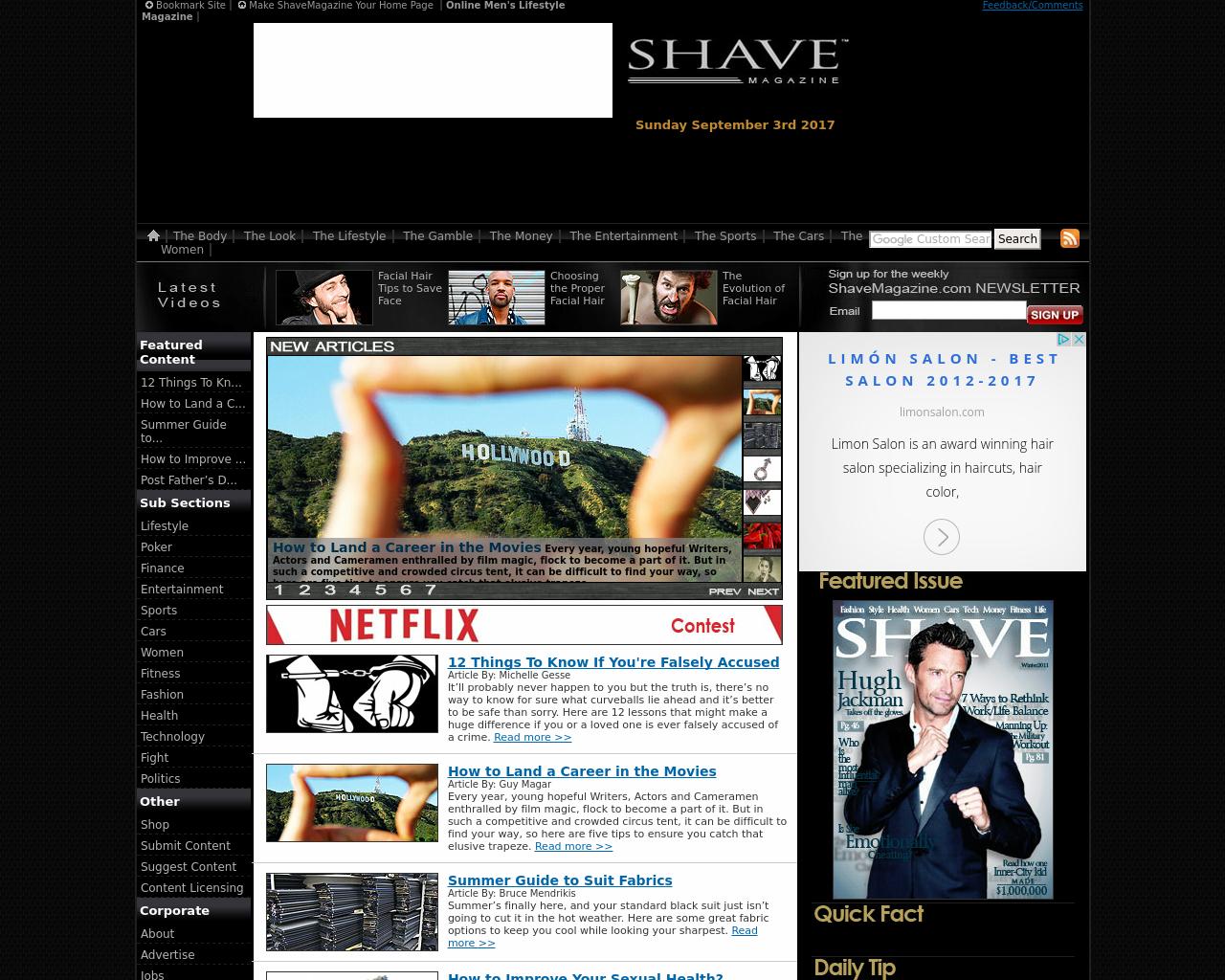 shavemagazine.com-Advertising-Reviews-Pricing