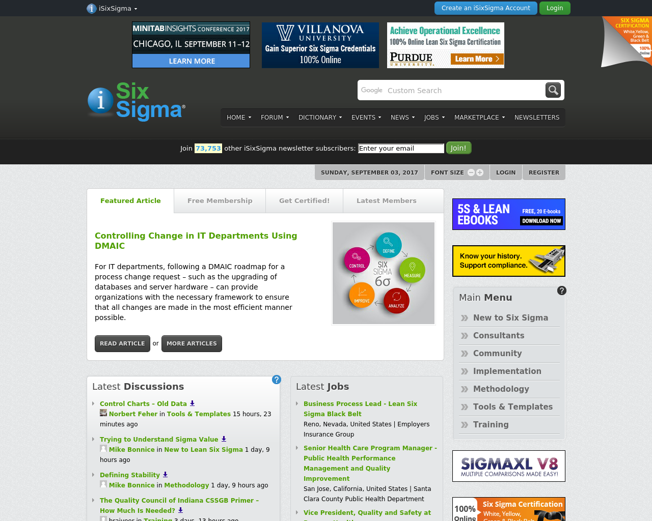 ISixSigma-Advertising-Reviews-Pricing