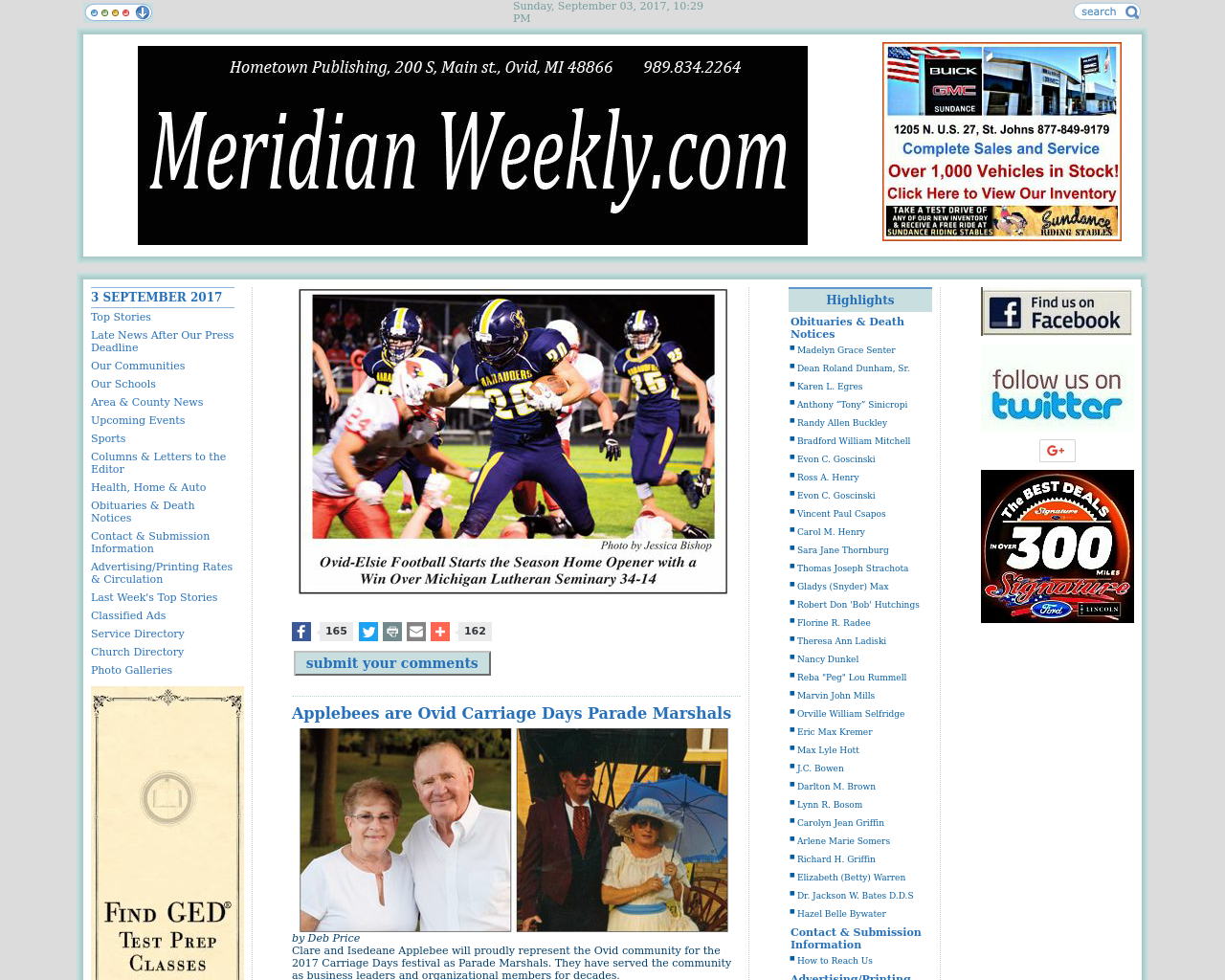 MeridianWeekly.com-Advertising-Reviews-Pricing