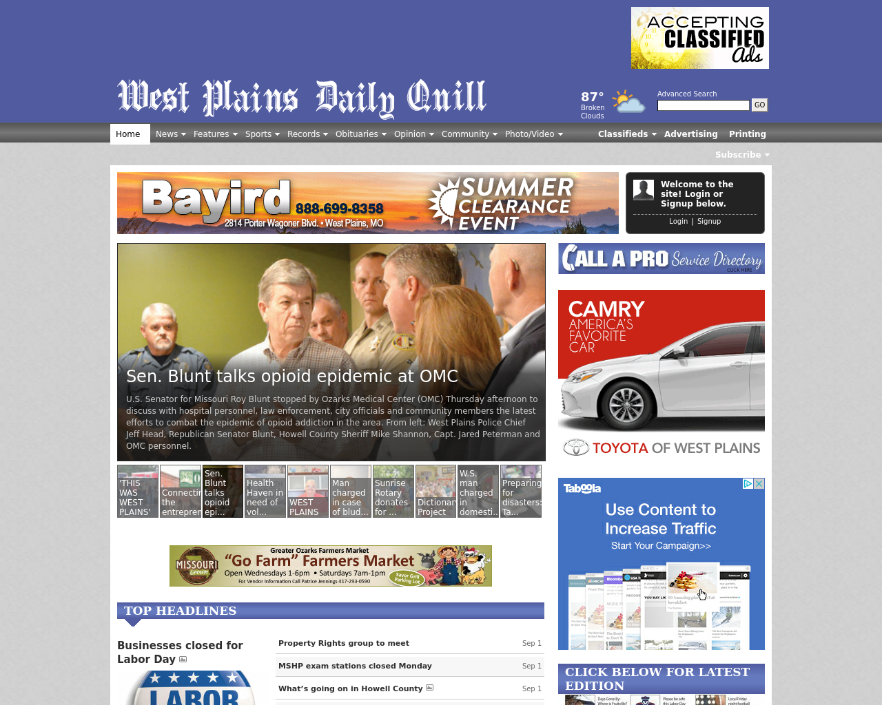 West-Plains-Daily-Quill-Advertising-Reviews-Pricing