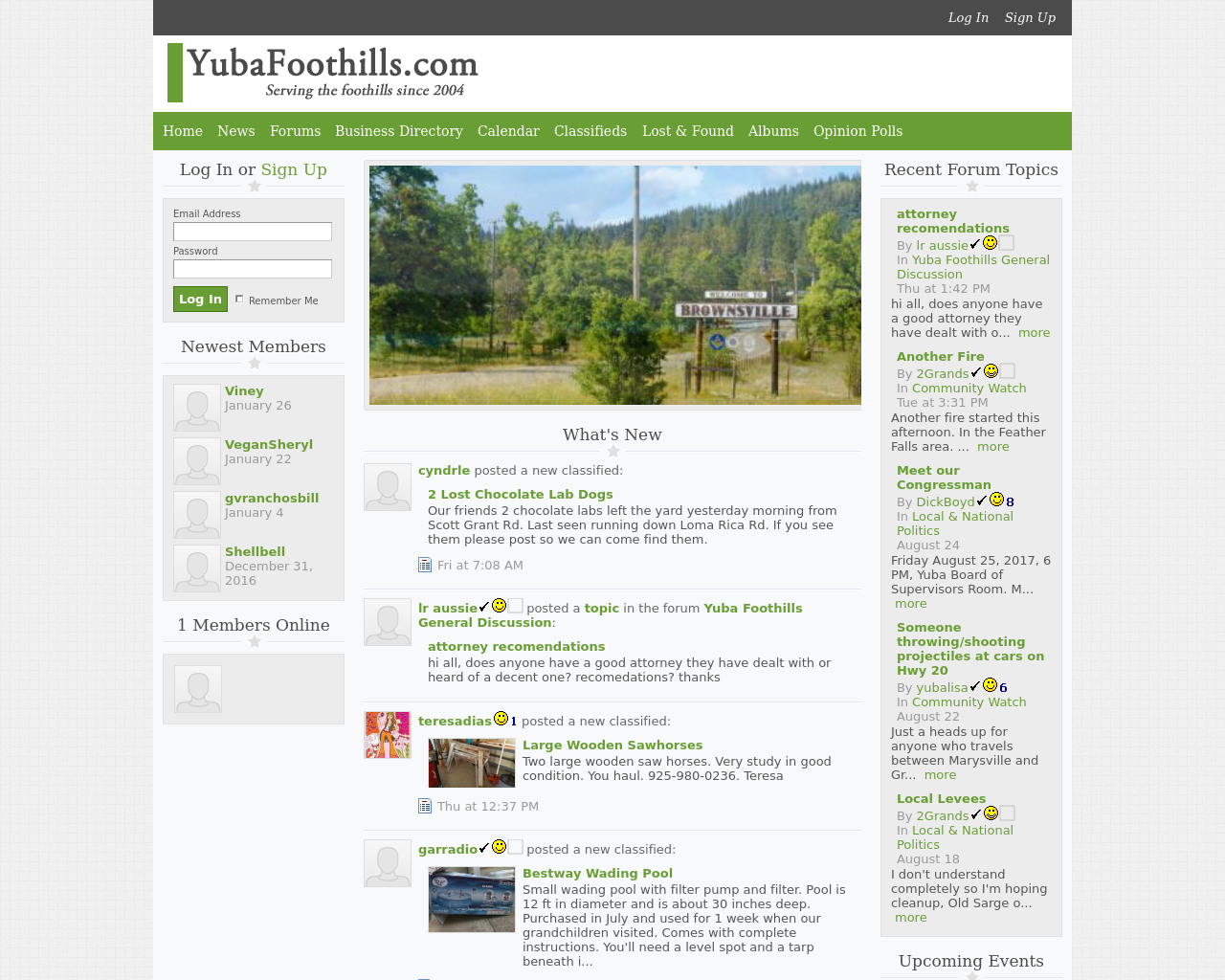 YubaFoothills.com-Advertising-Reviews-Pricing