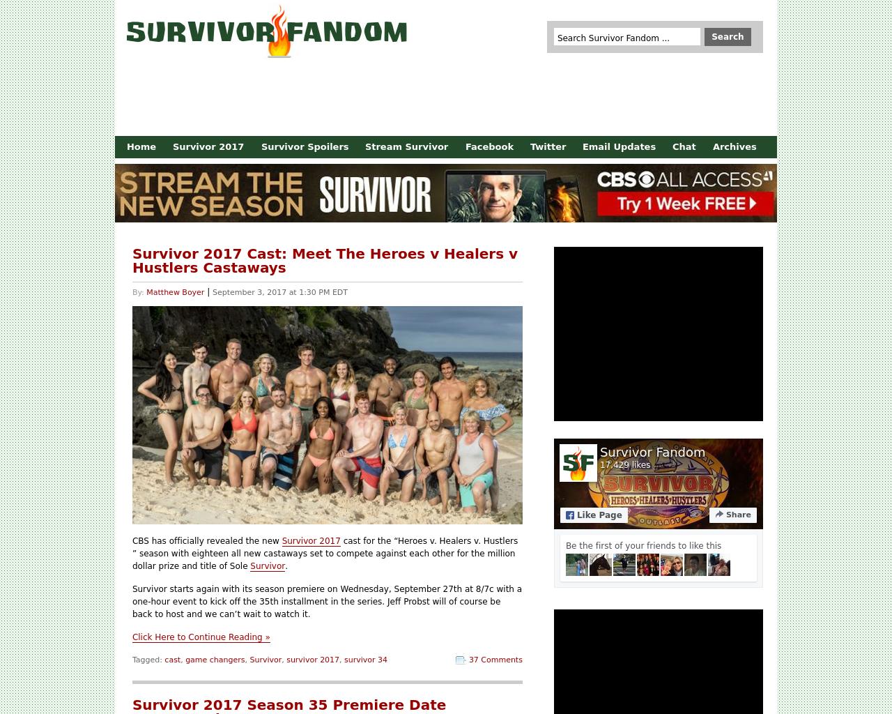 Survivor-Fandom-Advertising-Reviews-Pricing