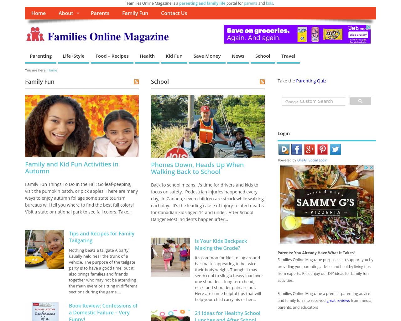 Families-Online-Magazine-Advertising-Reviews-Pricing