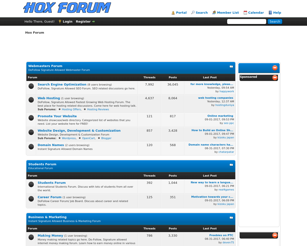 Hox-Forum-Advertising-Reviews-Pricing