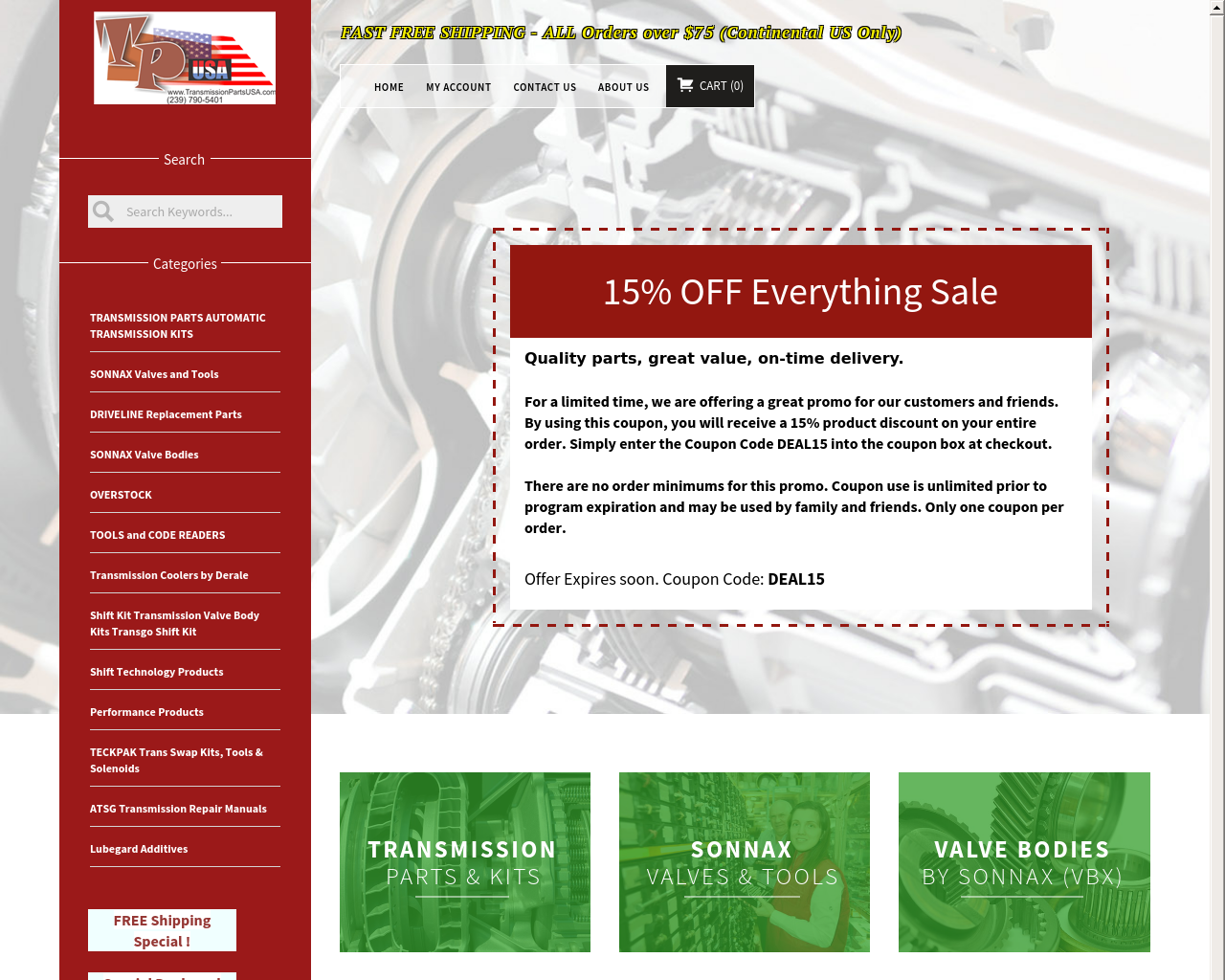TransmissionPartsUSA-Advertising-Reviews-Pricing