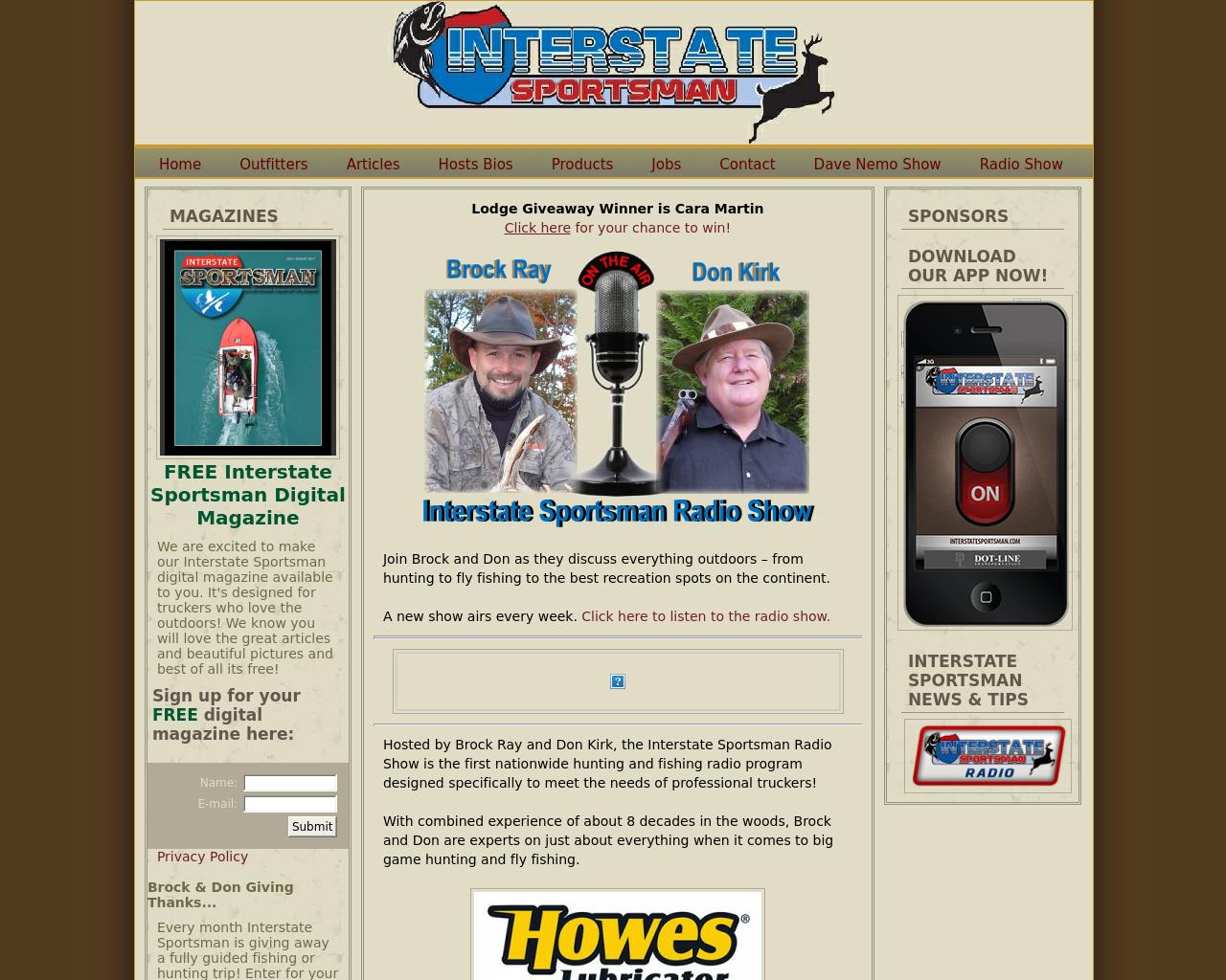 Interstatesportsman.com-Advertising-Reviews-Pricing