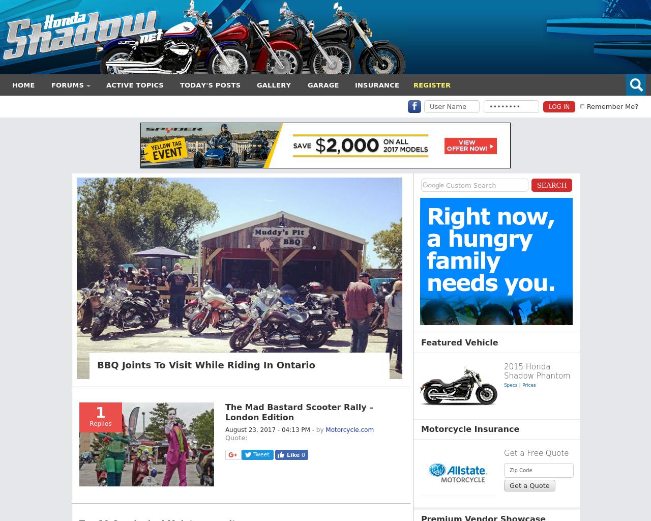 Honda-Shadow-Forums-Advertising-Reviews-Pricing