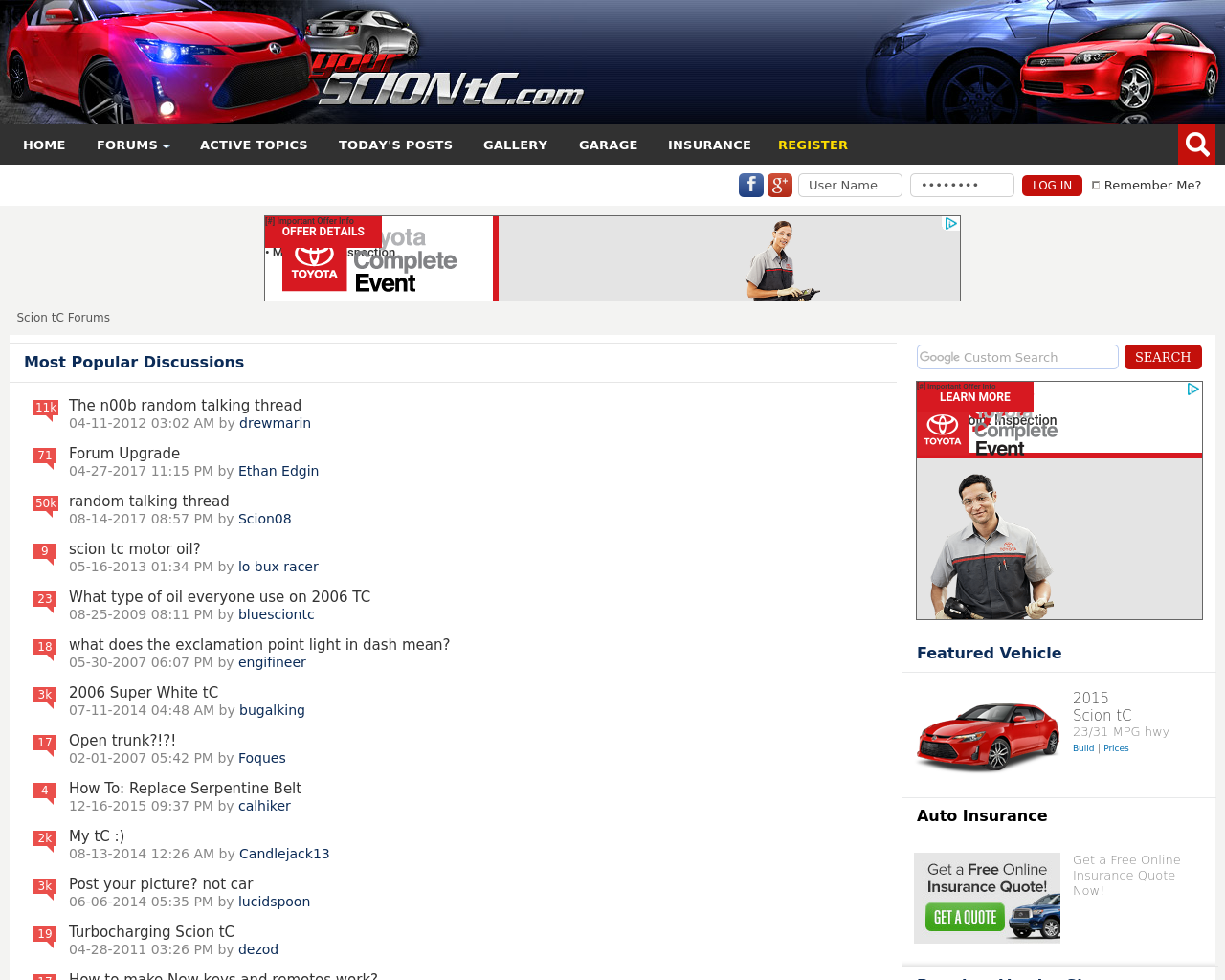 Scion-TC-Forums-Advertising-Reviews-Pricing