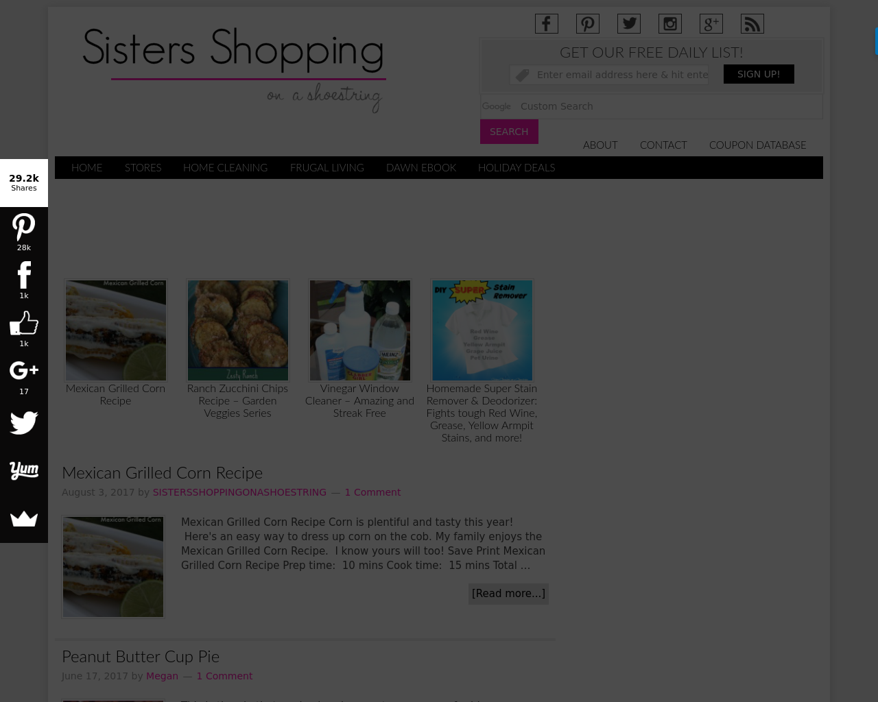 Sisters-Shopping-on-a-shoestring-Advertising-Reviews-Pricing