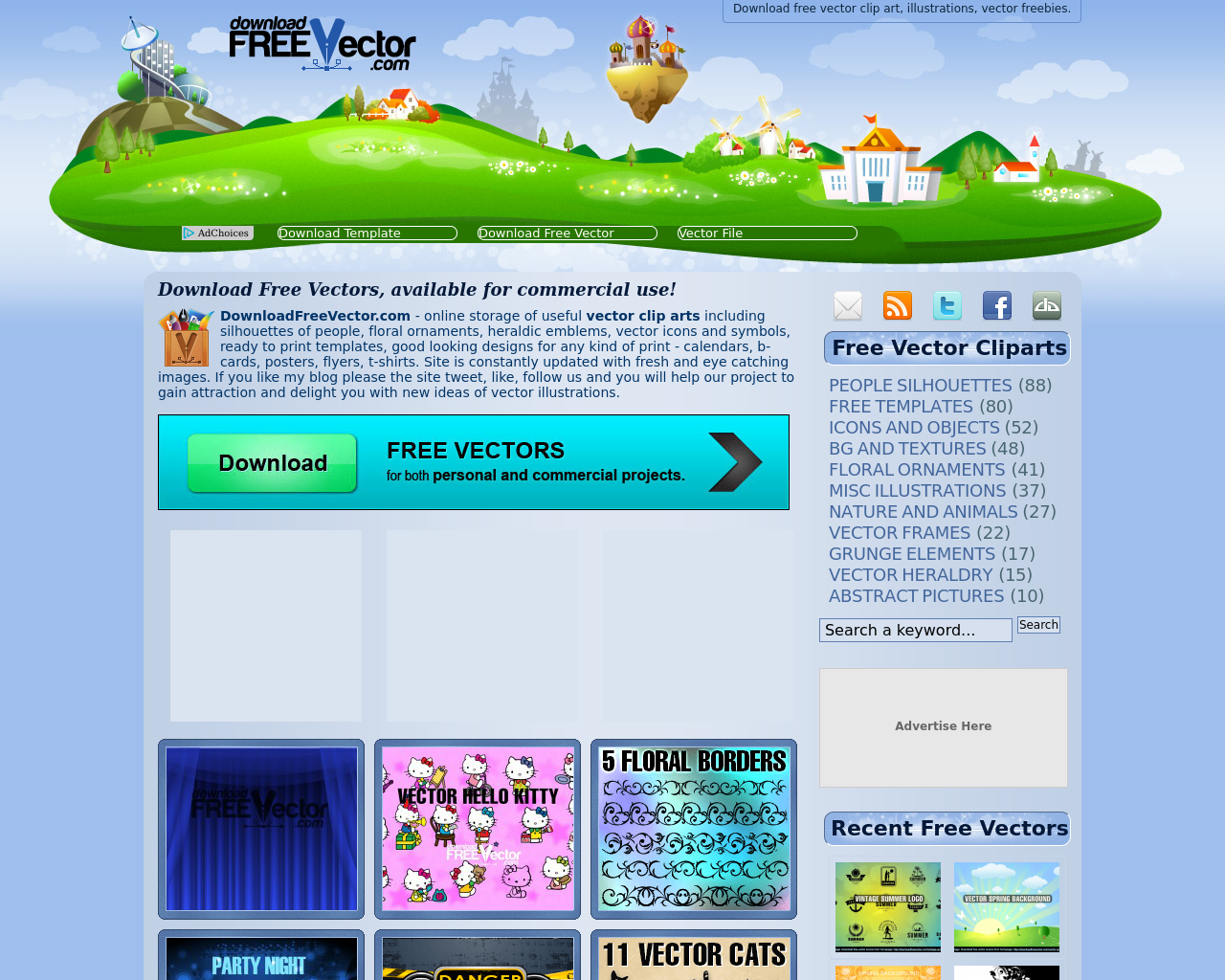 DownloadFREEVector.com-Advertising-Reviews-Pricing