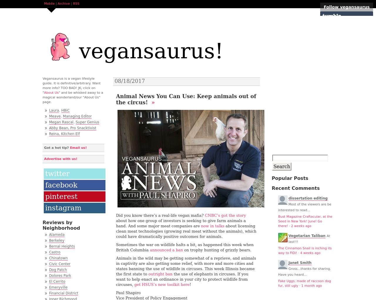 Vegansaurus-Advertising-Reviews-Pricing