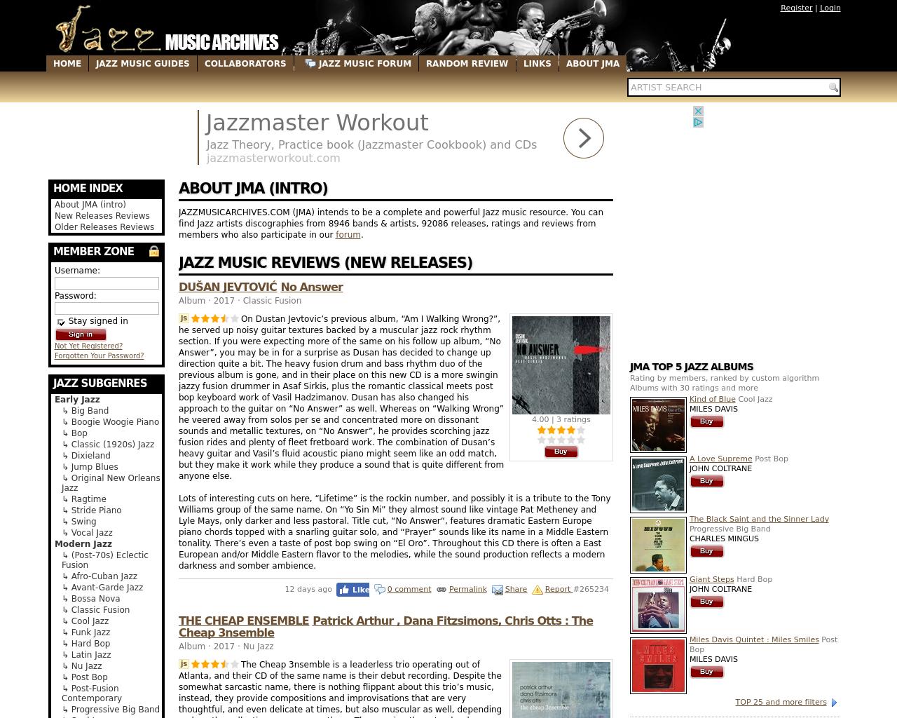 Jazz-Music-Archives-Advertising-Reviews-Pricing