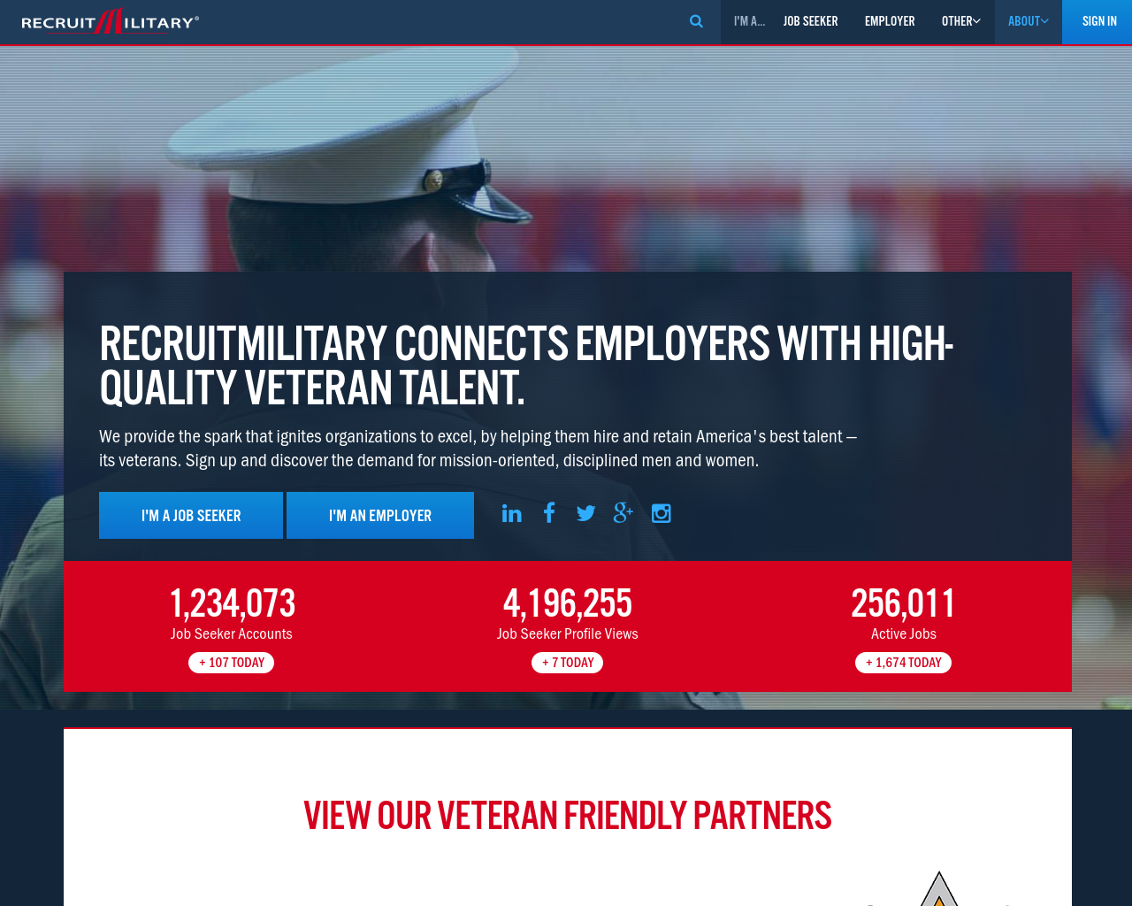 RecruitMilitary-Advertising-Reviews-Pricing