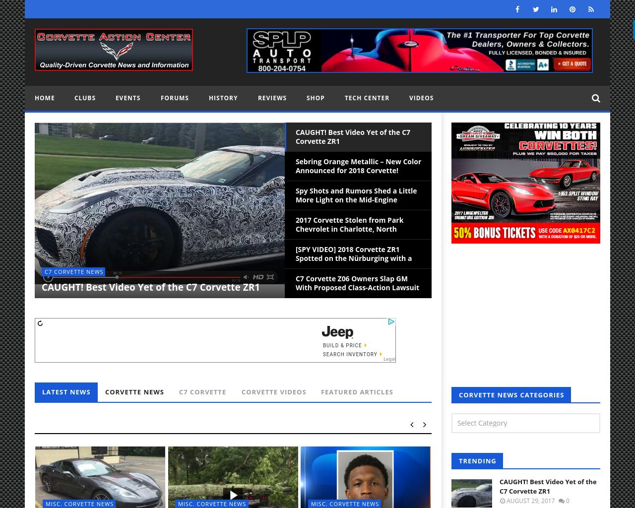 Corvette-Action-Center-Advertising-Reviews-Pricing