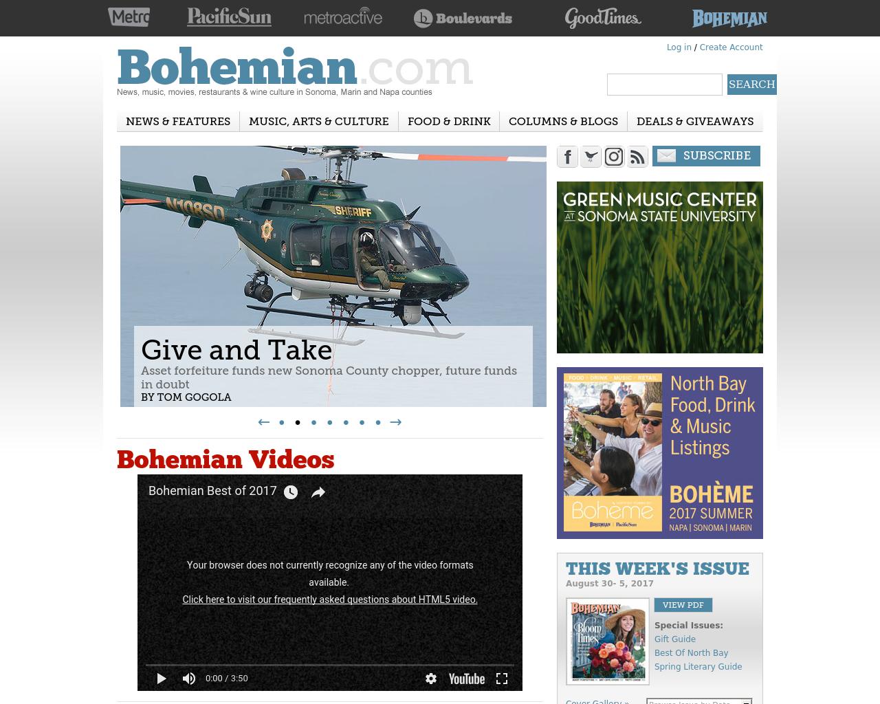North-Bay-Bohemian-Advertising-Reviews-Pricing
