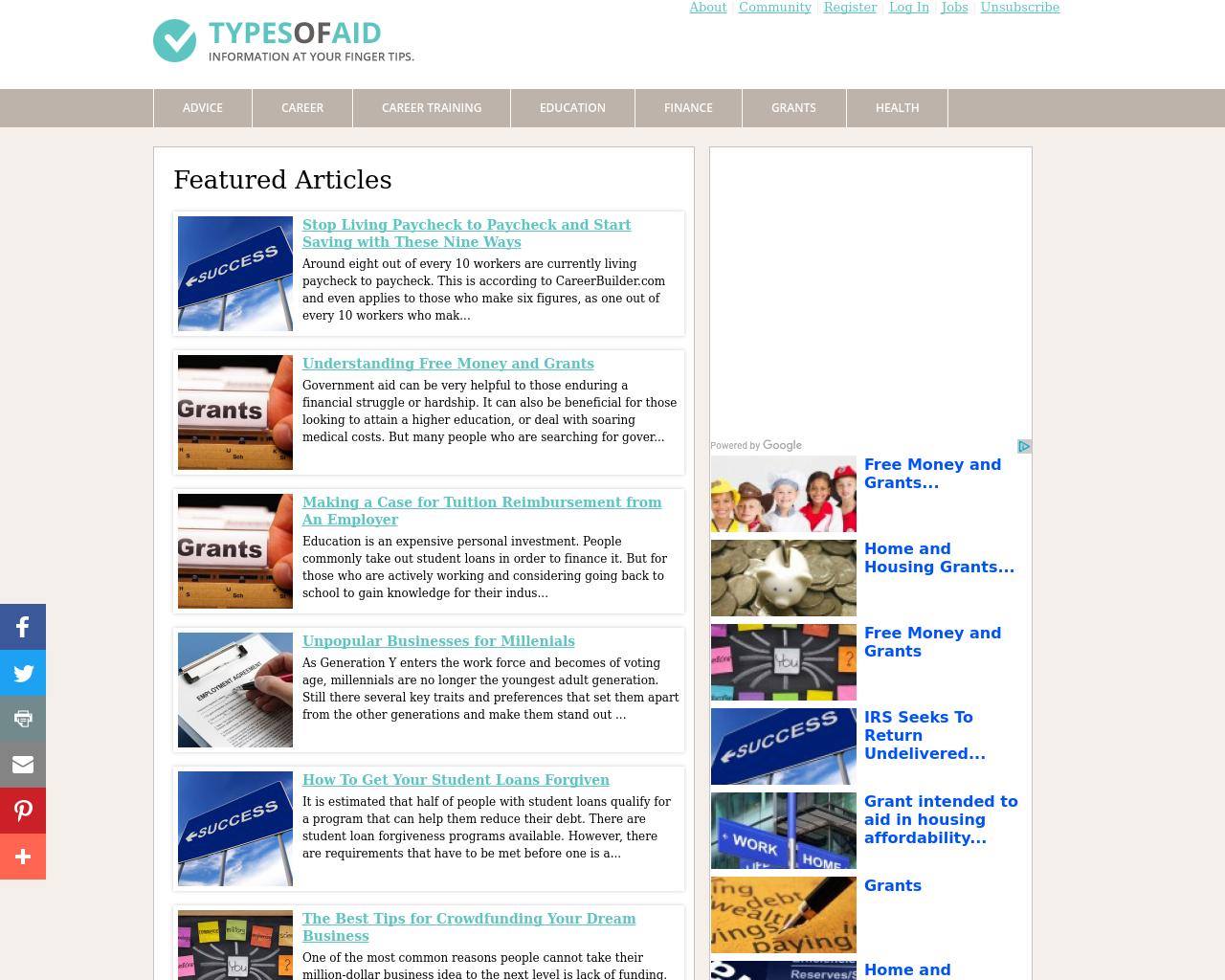 TypesOfAid.com-Advertising-Reviews-Pricing
