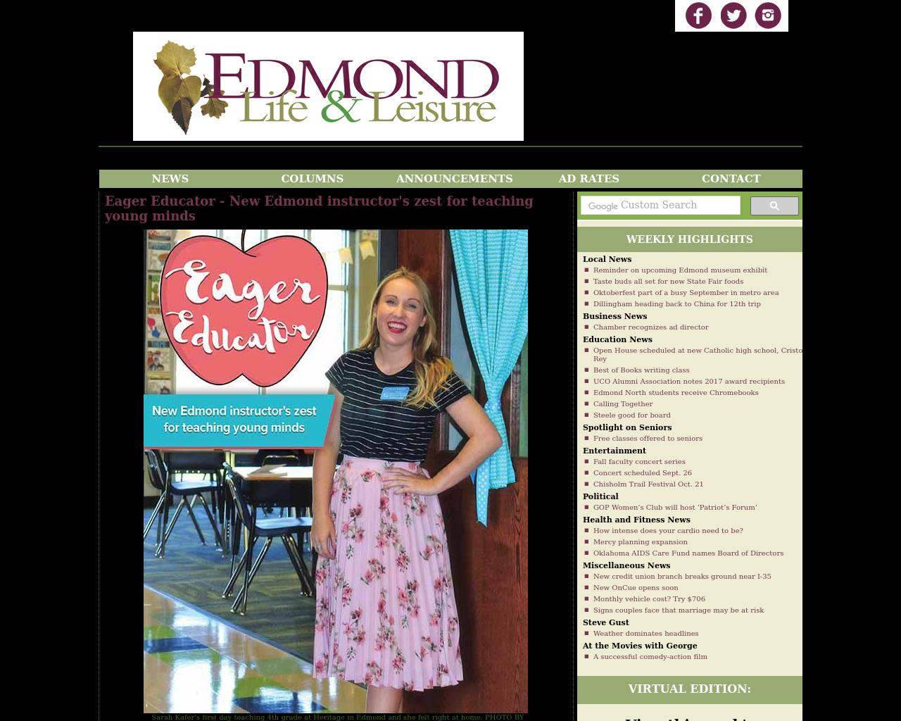 EDMOND-Life-&-Leisure-Advertising-Reviews-Pricing