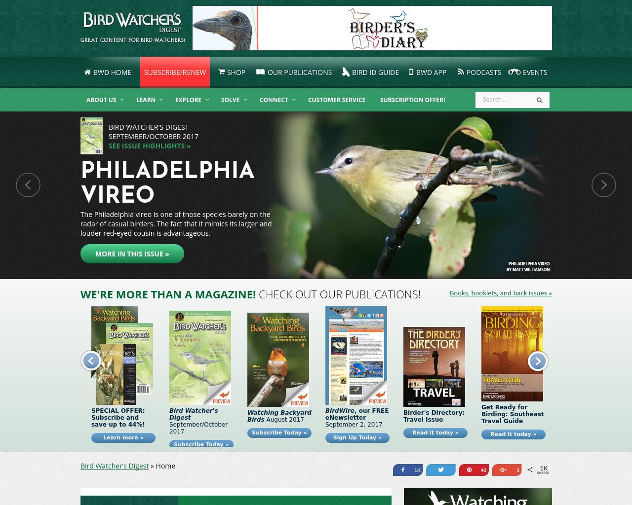 Bird-Watcher's-Digest-Advertising-Reviews-Pricing