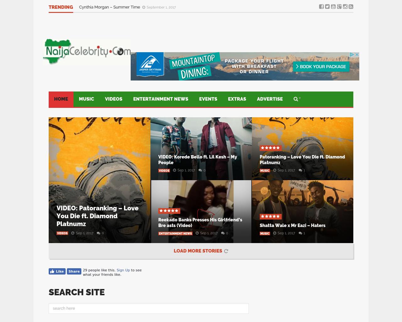 NaijaCelebrity.com-Advertising-Reviews-Pricing