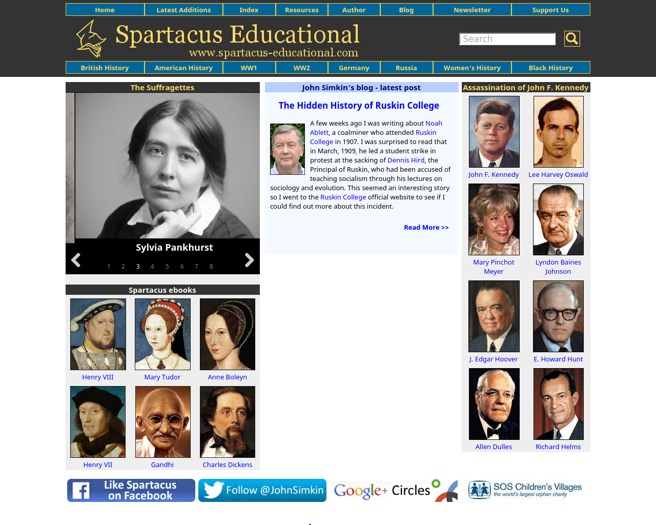 Spartacus-Educational-Advertising-Reviews-Pricing